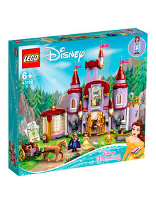 Lego Disney Princess Belle and the Beast's Castle, 43196 product photo