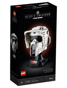 Lego Star Wars Scout Trooper Helmet, 75305 product photo