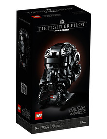Lego Star Wars TIE Fighter Pilot Helmet, 75274 product photo