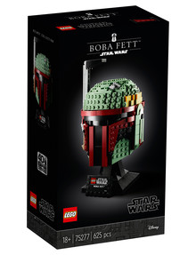Lego Star Wars Boba Fett Helmet, 75277 product photo