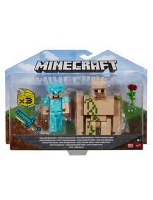 Minecraft Craft-a-Block 2-Pack Figures, Assorted product photo