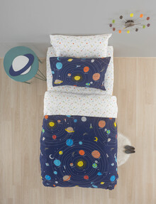 Linen House Kids Outer Space Duvet Cover Set product photo
