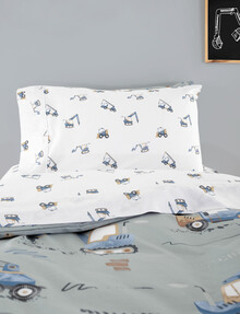 Linen House Kids Dig It Pillowcase product photo