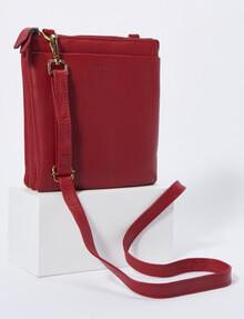 Carte Pouch Front Crossbody, Red product photo
