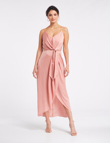 Whistle Occasion Dress, Blush product photo