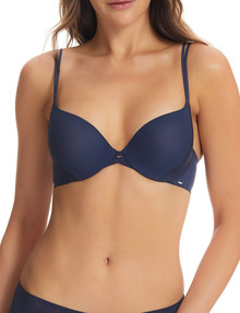Underline Dual Full Coverage Boost Bra, Midnight, C-E product photo