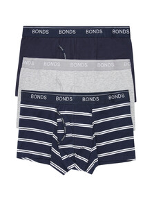 Bonds Guyfront Trunk, 3-Pack, Assorted product photo
