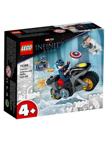 Lego Super Heroes Marvel Captain America and Hydra Face-Off, 76189 product photo