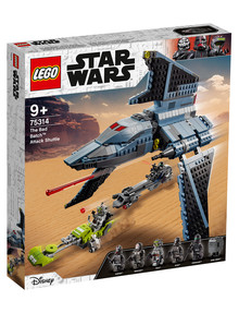 Lego Star Wars The Bad Batch Attack Shuttle, 75314 product photo