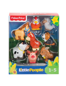 Fisher Price Little People Animal 8-Pack, Assorted product photo