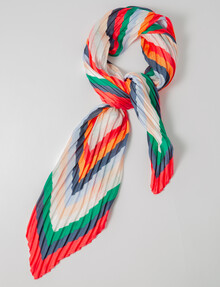 Boston & Bailey Pleated Bright-Colour Scarf product photo