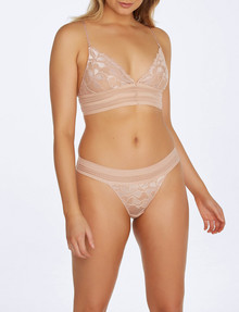 Me By Bendon Captivate Me Thong, Nude Intime product photo