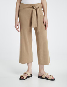 Mineral Ida Knitted Lounge Pant, Malt product photo