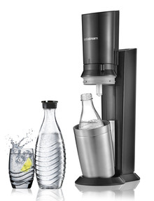 Sodastream Crystal Starter Pack with 1 Glass Carafe, 60L product photo