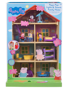 Peppa Pig Lights N Sounds Home Playset product photo