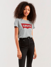 Levis Perfect Batwing Tee, Smokestack product photo
