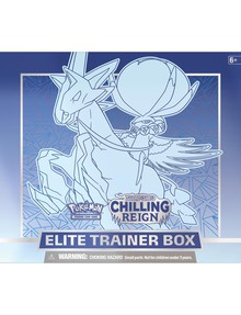 Pokemon Chilling Reign Elite Trainer Box, Assorted product photo