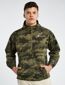 Champion US Camo Packable Jacket, Olive product photo
