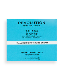 Makeup Revolution Splash Boost Cream with Hyaluronic Acid, 50ml product photo