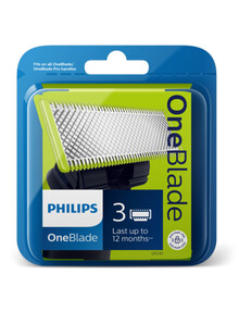Philips OneBlade Blades, 3-Pack, QP230/50 product photo