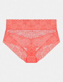 Bendon Lace High Rise Brief, Tea Rose product photo