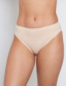 Bendon Seamless High Cut Brief, Latte product photo