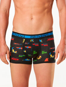Mitch Dowd Bamboo Trunk, Dogs, Black product photo