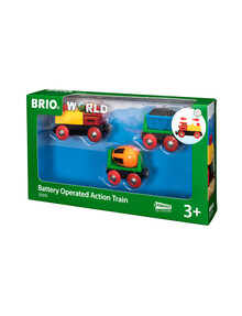 BRIO Battery Operated Action Train product photo
