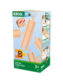 """BRIO Tracks - Starter Track Pack """"B"""", 13-pieces product photo"""