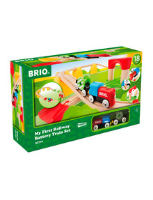 BRIO My First Railway Battery Train Set, 25 Pieces product photo