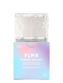 The Aromatherapy Co. FLWR Candle 100g, Forget Me Not product photo