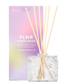 The Aromatherapy Co. FLWR Diffuser, 90ml, Purple Reign product photo