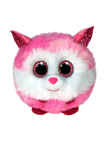Ty Beanies Puffies Princess Soft Toy, Husky Pink product photo