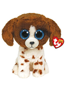 Ty Beanies Boo Mudddles Dog Soft Toy, Brown product photo