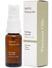 Natio Purifying Face Oil, 15ml product photo