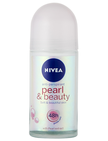 Nivea Pearl & Beauty Roll On Deodorant, 50ml product photo
