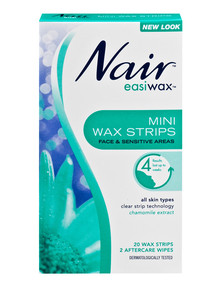 Nair Easiwax Mini Strips, Pack-of-20 product photo