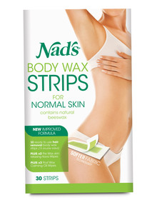Nads Body Wax Strips, Set-of-30 product photo