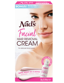 Nads Facial Hair Removal Cream, Sensitive, 28g product photo