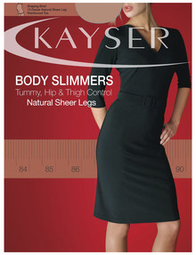 Kayser Body Slimmers, Natural Sheer Pantyhose, 15 Denier product photo