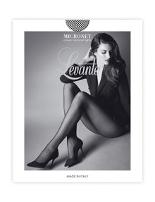 Levante Micronet Tights, Nero (Black) product photo