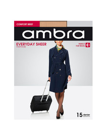 Ambra Qantas Everyday Sheers, 15 Denier Tight product photo