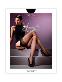 Levante Vanessa Stocking, 15 Denier, Nero product photo