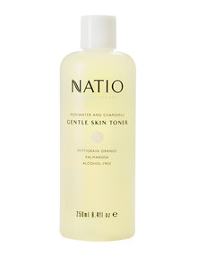 Natio Aromatherapy Rosewater and Chamomile Gentle Skin Toner, 250ml product photo