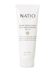 Natio Aromatherapy Daily Protection Face Moisturiser SPF 15, 100g product photo