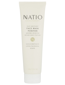 Natio Clay and Plant Face Mask Purifier, 100g product photo