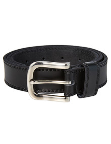 Chisel Twin-Needle Leather Belt product photo