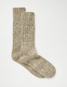 Outdoor Collection Nude Alpine Flec sock, 2 Pack product photo