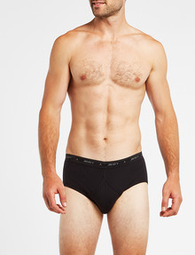 Jockey Hipster Brief, Black product photo